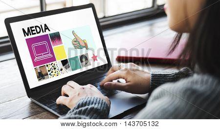 Social Media Blog Communication Chat Communication