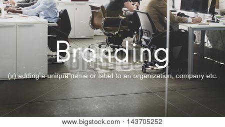 Branding Brand Copyright Label Logo Product Concept