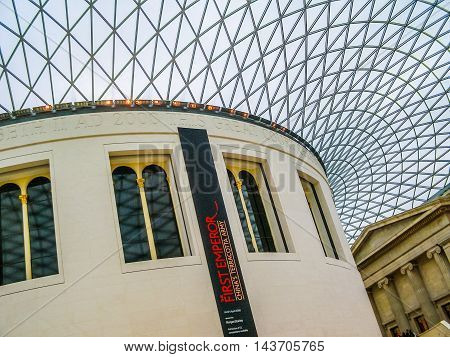 British Museum London (hdr)
