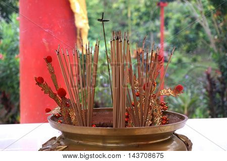 chinese incense stick for pray to God
