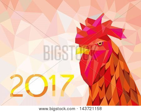 oriental symbol of calendar year fire rooster