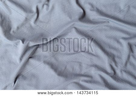 gray wrinkled fabric texture used for background