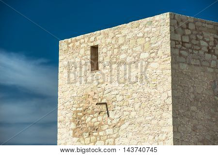 Old Watchtower in Spain among the swamps