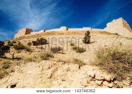 Kerak Castle a crusader castle in Jordan.