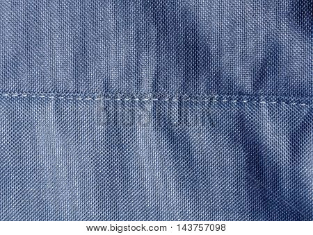 Abstract Color Textile Texture With Stitch.