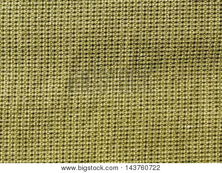 Abstract Yellow Textile Texture With Pattern.
