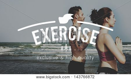 Exercise Healthcare Energy LIfestyle Concept