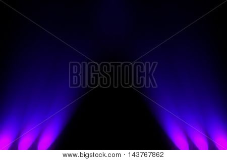 dark space with spotlight background