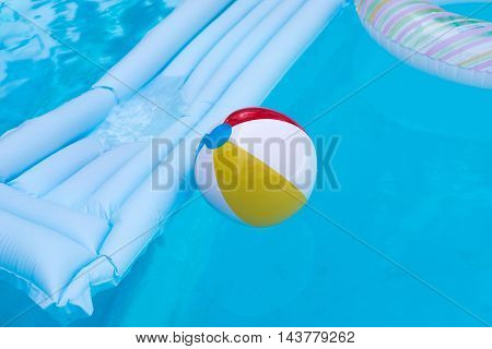 Rubber Air Bed And Ball
