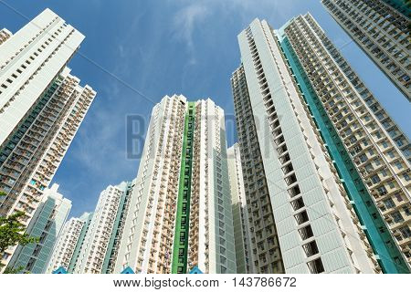 Tall building from low angle