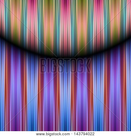 A colourful speed blur stripes pattern background