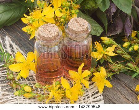 St John's wort oil
