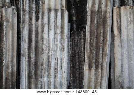 Old Corrugated Texture Sheet