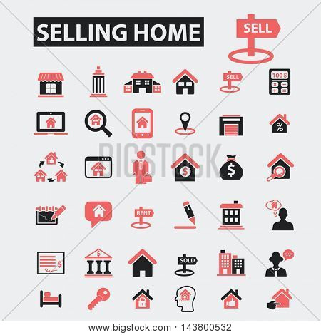 selling home icons