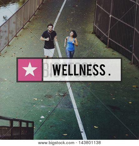 Wellness Exercise Health Life Living Vitality Concept