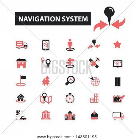 navigation system icons