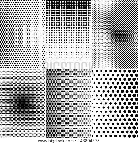 Set Of Halftone Effects