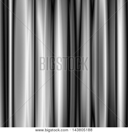 Abstract white mesh background with futuristic fabric, silk texture and ambient occlusion effect for design concepts, wallpapers, presentations, web and prints. Vector illustration.