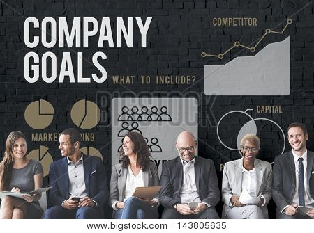 Business Strategy Ideas Plan Progress Concept