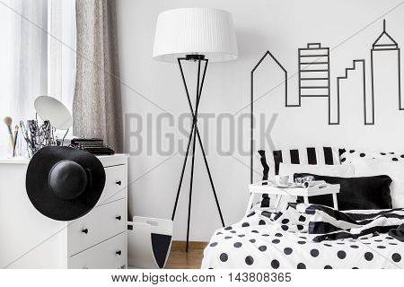 Room Inhabited By Woman