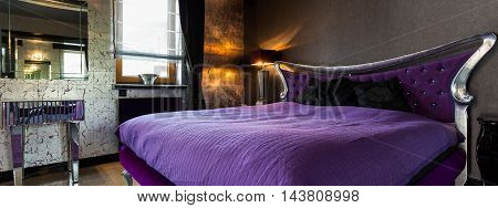 Violet Marriage Bed