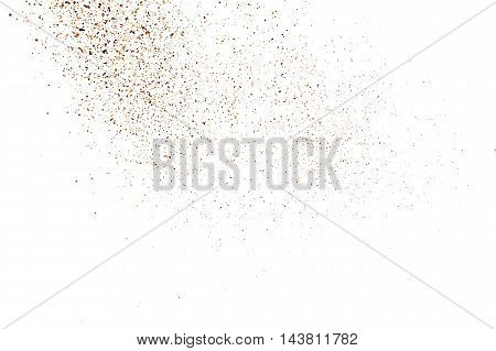 Coffee Color Grain Texture Vector.