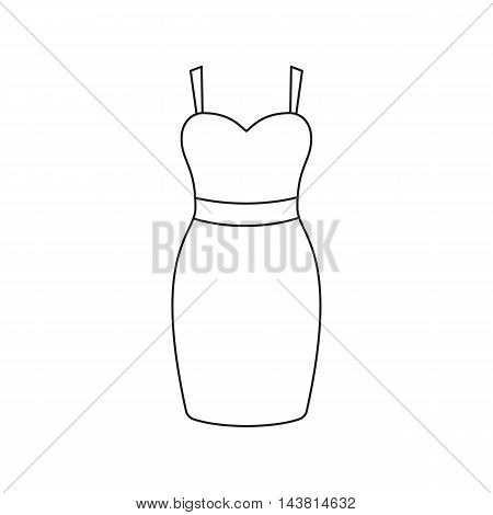 Dress icon of vector illustration for web and mobile design