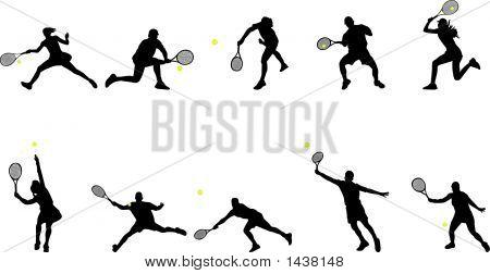 Tennis Play.Eps