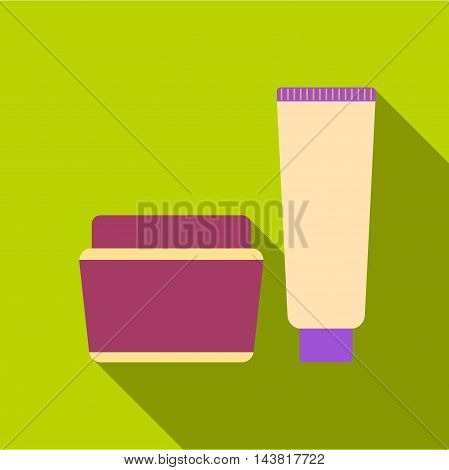 Cream icon of vector illustration for web and mobile design