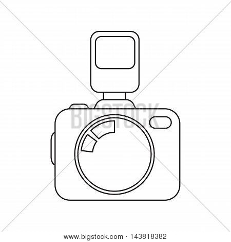Photo camera icon of vector illustration for web and mobile design