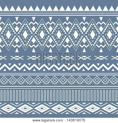 Tribal Boho Seamless Pattern. Ethnic Geometric Ornament. Vintage  Seamless Background. Boho Texture for Fabric, Wallpaper and Wrapping.