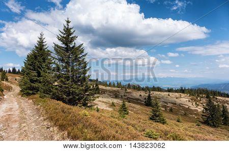Janosikova kolaren - national reservation in Great Fatra range Slovakia
