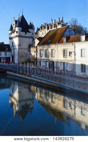 Royal City Of Loches (france).