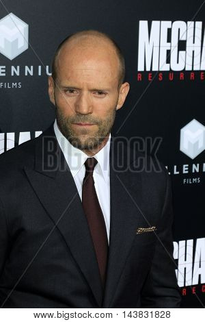 LOS ANGELES - AUG 22:  Jason Statham at the