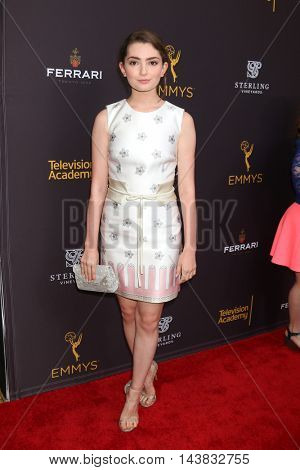 LOS ANGELES - AUG 22:  Emily Robinson at the Television Academy's Performers Peer Group Celebration at the Montage Hotel on August 22, 2016 in Beverly Hills, CA
