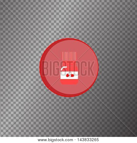 vector icon vector icon medical tablet medicine capsule pill illustration on background