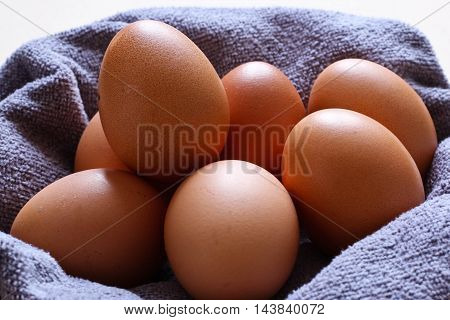 Hen Eggs Brown