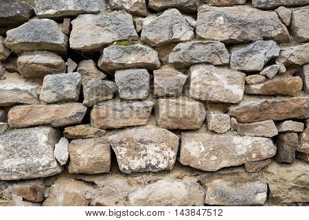 background of wall with stone black, abstrac