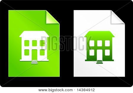 Building on Paper Set Original Vector Illustration AI 8 Compatible File