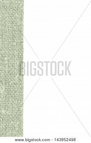 Textile thread fabric space moss canvas material detail background