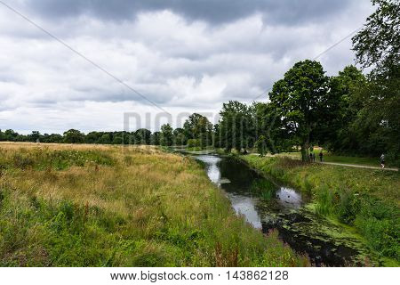 Celbridge Ireland Nature Landscape River Field Outdoors