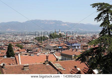 Bursa City In Turkey