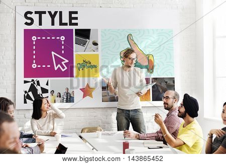 Presentation Graphic Work People Concept