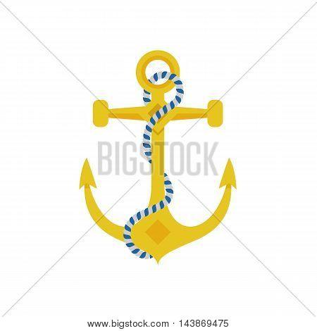 Ship Anchor Vector Icon