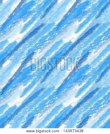 Rough Brush Blue Watercolor