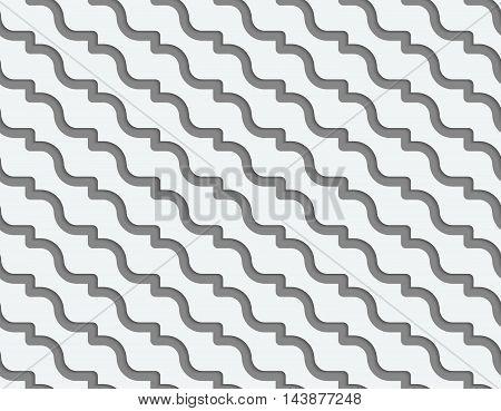 Perforated Diagonal Waves