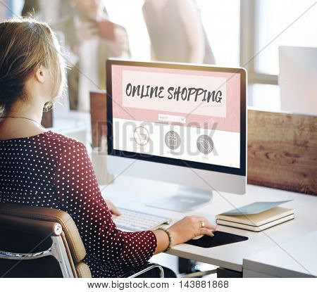 Online Shopping Internet Store Concept