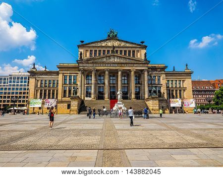 Konzerthaus Berlin In Berlin (hdr)