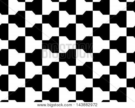 Black And White Alternating Bolts