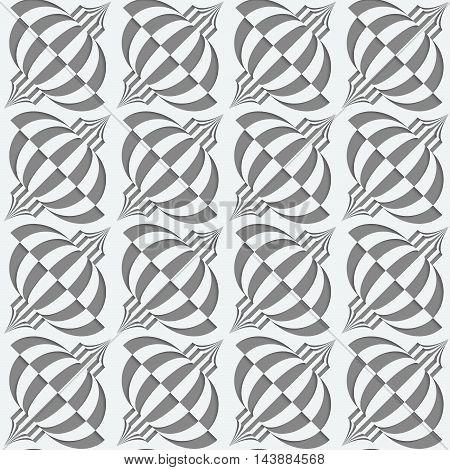 Perforated Diagonal Chinese Lanterns